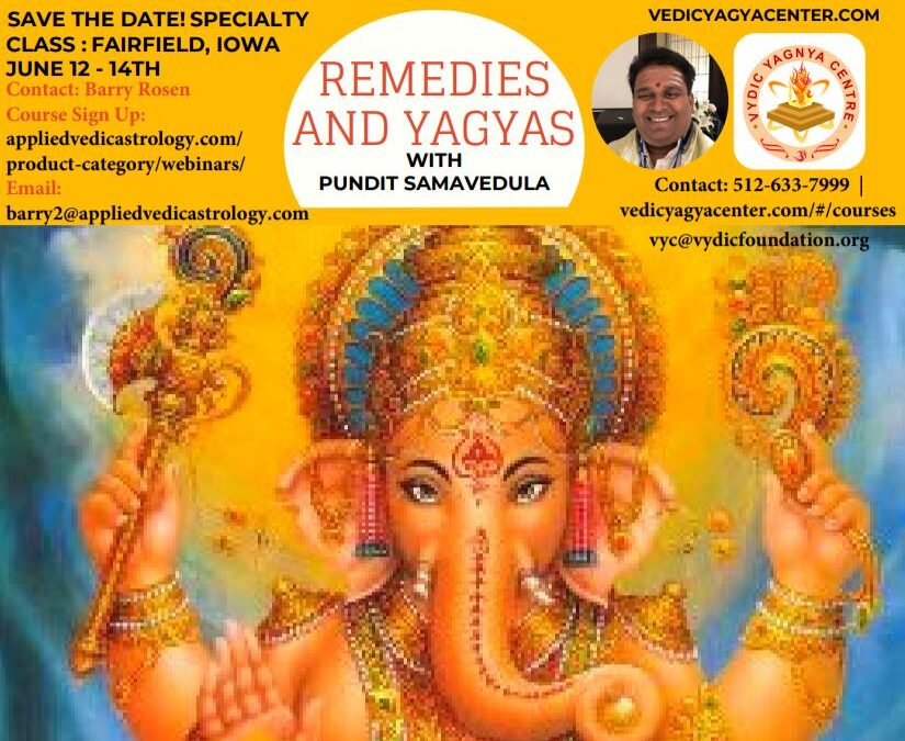 REMEDIES AND YAGYAS WITH PUNDIT SAMAVEDULA
